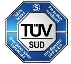 Certyfikat TUV dla Autosock