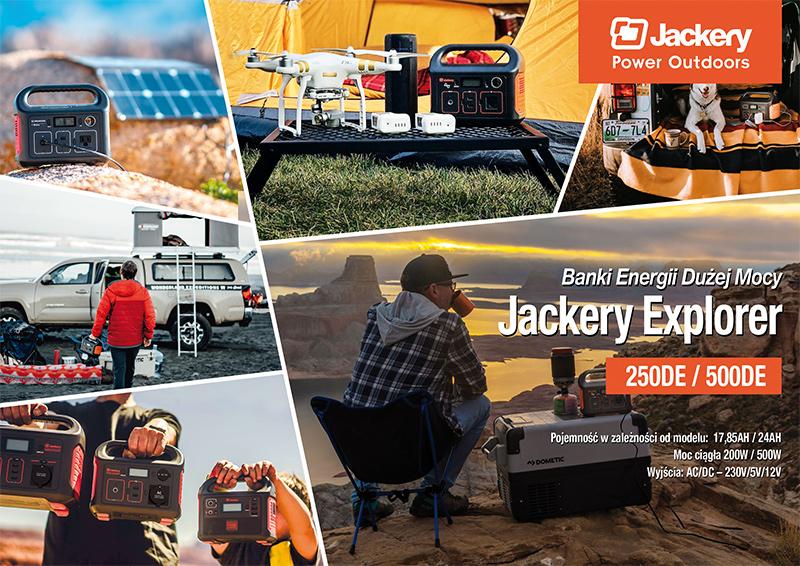 Banki Energii Jackery 250 i 500