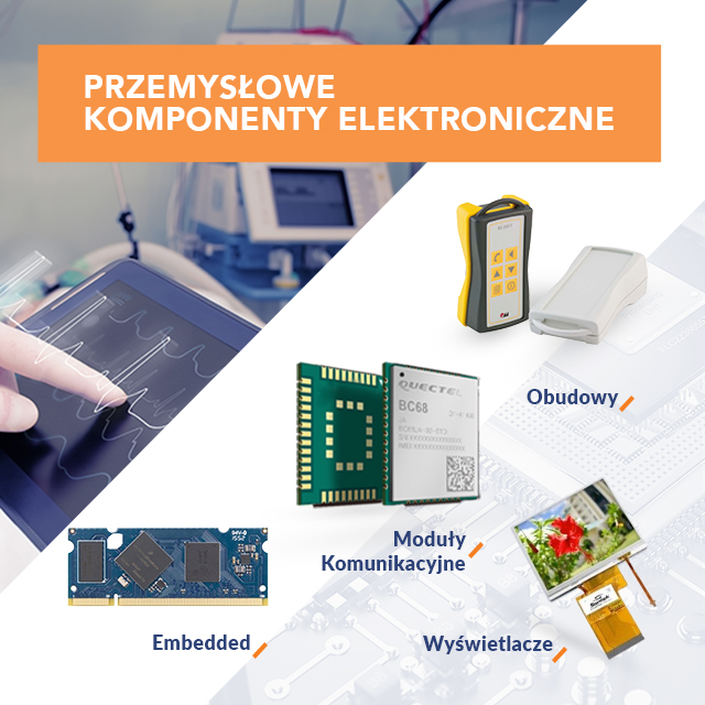 Przemysłowe komponenty elektroniczne
