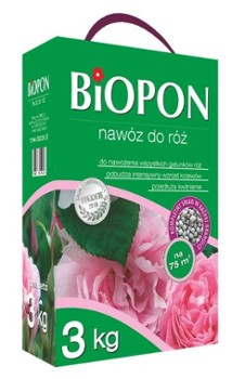 Nawóz Biopon do róż 3 kg.