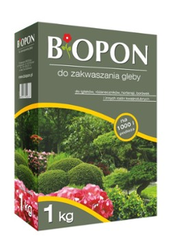 Nawóz Biopon do zakwaszania 1 kg.
