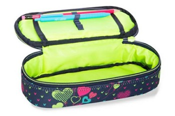 PIÓRNIK COOLPACK CAMPUS LIME HEARTS