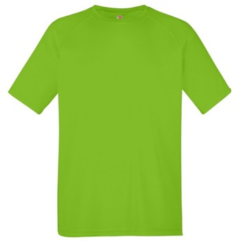 T-SHIRT FOTL PERFORMANCE 61390 LIME