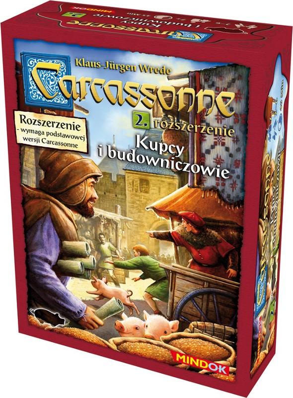 Carcassonne 2 Kupcy i Budowniczowie