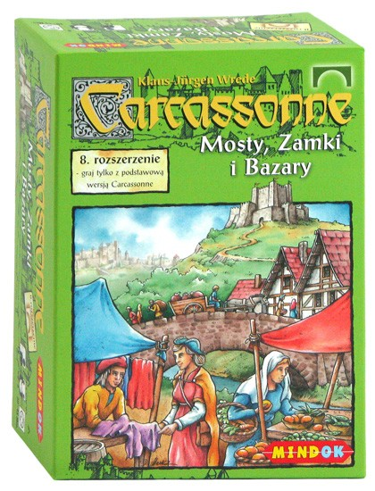 Carcassonne 8 Mosty, Zamki i Bazary