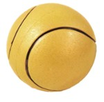 Tennis ball yellow - 90 mm