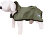 Raincoat Dog Cape - Happet 291B - Olive XS - 30cm