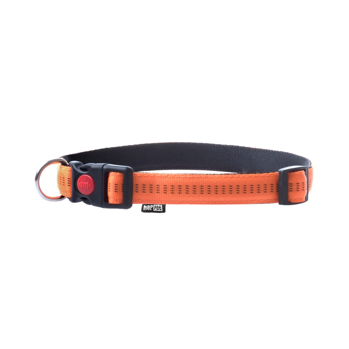 Soft nylon collar orange size S 1cm