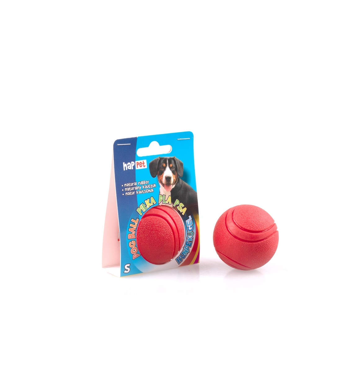 Rubber ball for a dog 50mm