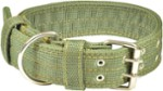 Dog-Collar XXL / Double / Green - Happet SX25 - 4,5cm