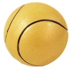 Tennis ball green - 90 mm