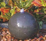 Ball fountain (polished)