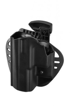 Polymer holster CZ P-07 (left hand) paddle, belt loop