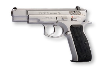 Pistolet CZ 75 B 9mm Luger stainless mat