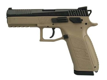 Pistolet CZ P-09 FDE T  k. 9mm L man+dec