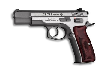 Pistolet CZ 75 B New Ed. satin 9x19mm