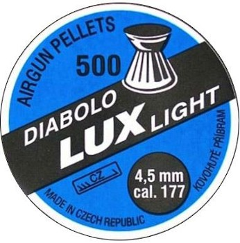 Diabolo KOVOHUTE LUX LIGHT kal.4,5mm/500