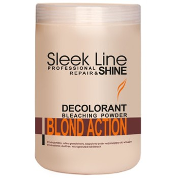 STAPIZ Rozjaśniacz do włosów 500g Sleek Line Blondaction
