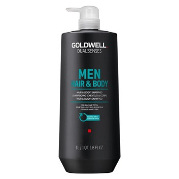 GOLDWELL MEN Szampon i żel pod prysznic 1000 ml DS Hair& Body