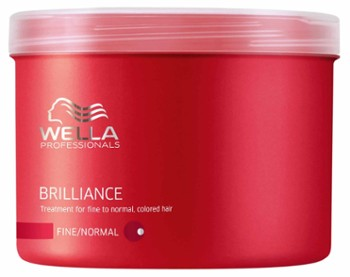 WELLA Maska do włosów farbowanych 500 ml Brilliance Thick