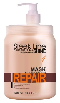 STAPIZ  Maska do włosów 1000ml Sleek Line Repair