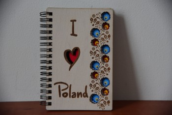 Notatnik  WOODEN NOTEBOOK