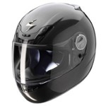 SN KASK EXO-450 AIR SOLID BLACK L