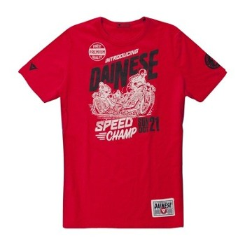 T-Shirt Dainese Speed Champ L