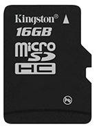 Kingston karta pamięci Micro 16GB cl.4