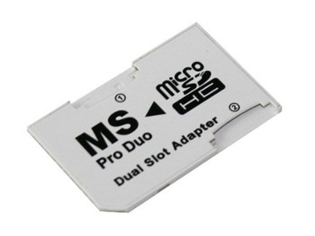 Adapter micro SD dual slot/Memory Stick