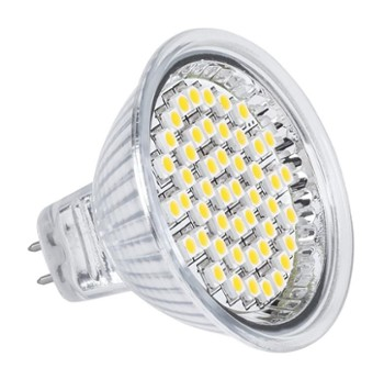 Lampa LED 48SMD 3528 3W MR16 230V