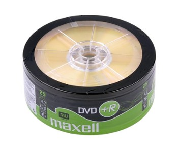 DVD+R MAXELL 4,7 GB 16x SP.25szt