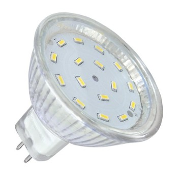 Lampa LED 16/3014 5W MR16 3000K 12V