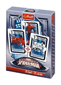 TREFL karty Piotruś spiderman 08451
