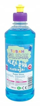 TUBAN Klej do slime niebieski PVA 500ml