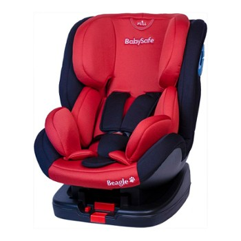 BabySafe Beagle red/black 0-25kg isofix