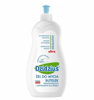 DZIDZIUŚ żel do mycia butelek 500ml.