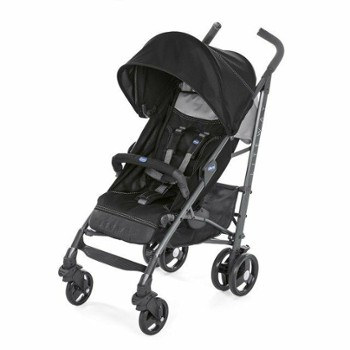 CHICCO lite way 3 top jet black wózek