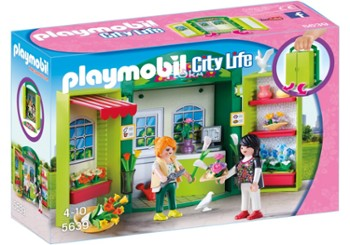 PLAYMOBIL 5639 play box kwiaciarnia