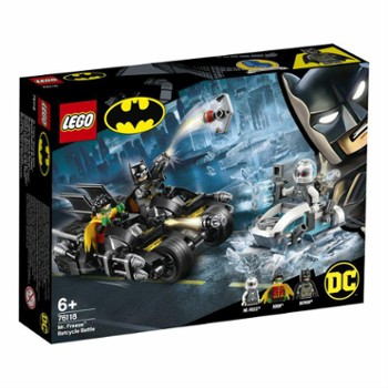 LEGO SUPER HEROES 76118 walka z Mr.