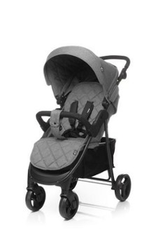 4BABY rapid XIX grey wózek spacerowy