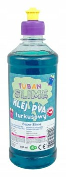 TUBAN klej do slime turkosowy PVA 500ml