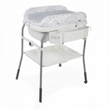 CHICCO wanienka Cuddle bubble cool grey