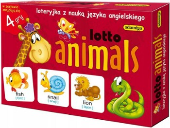 ADAMIGO  gra lotto animals