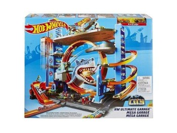 HOT WHEELS mega garaż rekina FTB69