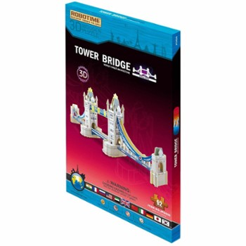 ANEK puzzle drewniane 3D tower bridge