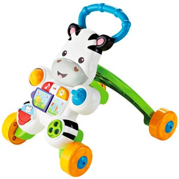 FISHER-PRICE interaktywny chodzik zebra