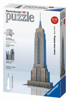 RAVENSBURGER puzzle 3d empire state