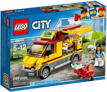 LEGO CITY 60150 foodtruck z pizzą