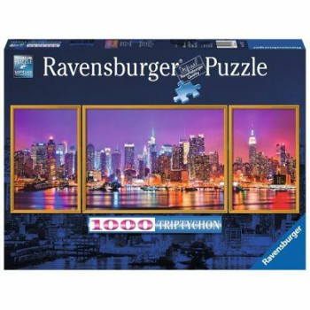 RAVENSBURGER puzzle New York tryptyk